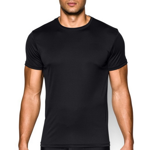 Y2Y2 Mens Fitted Short Sleeve Crew Neck Training T-Shirt Black S ...